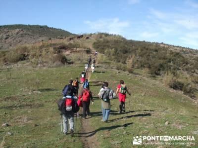 Ascensión al Poblado del Atazar- Senda Genaro GR300 - excursiones y trekking; puente constitucion;